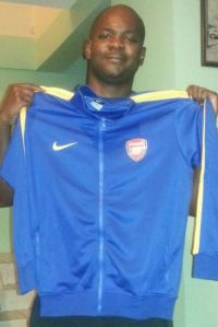 Alon Cooper with Club Jacket
